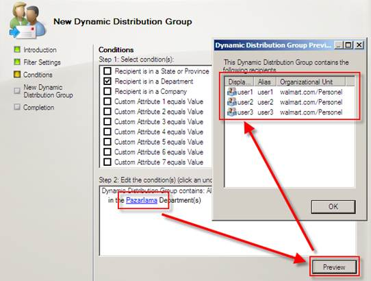 Exchange Server 2007 Üzerinde Distribution Group, Mail Contact, Disconnect MailBox İşlemleri