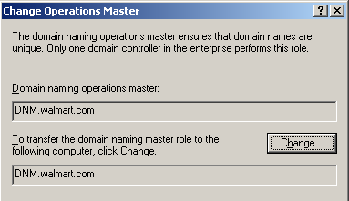 Active Directory FSMO (Flexible Single Master of Operation) Rolleri