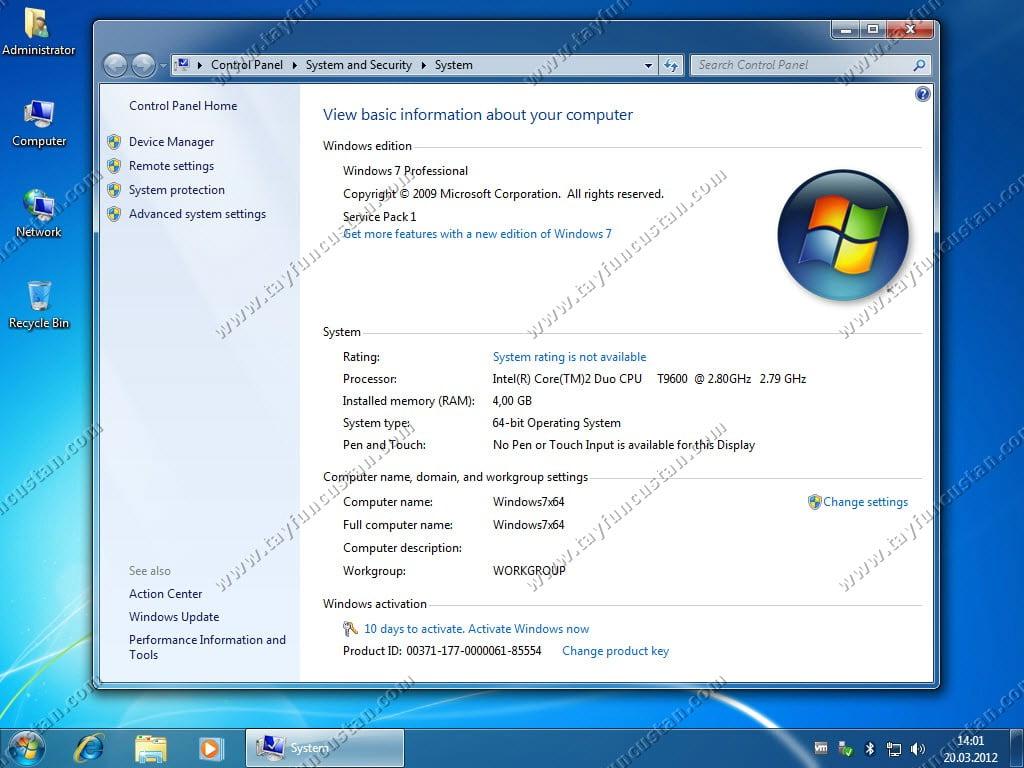 Windows 7 Kurulu Sistemde İkinci İşletim Sistemi Olarak Windows 8 Kurulumu. (Windows 7 ve Windows 8 Dual Boot)