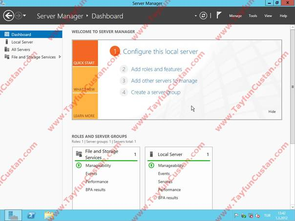 Windows Server 8 Beta Kurulumu