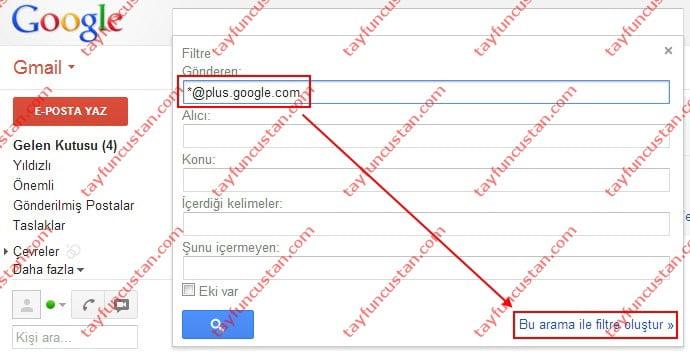 Gmail'de Kural Oluşturarak Toplu Mail Silme Nasıl Yapılır