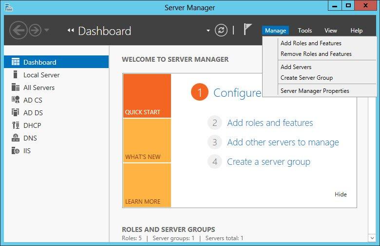 Server 2012'de Masaüstü Ikonlarını Aktifleştirme