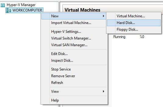 Hyper-V 3.0 ile Differencing Disk Kullanımı
