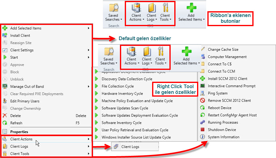 SCCM Right Click Tool